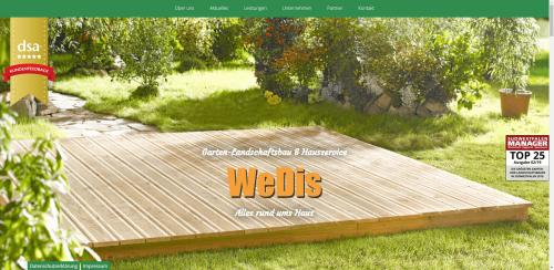 Firmenprofil von: Professioneller Winterdienst in Wittgenstein: WeDis-Gartenbau e. K.