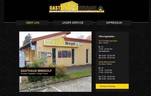 Firmenprofil von: Gasthaus Minigolf in St. Ingbert