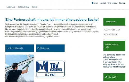 Firmenprofil von: Gebäudereinigung Claudia Braun im Raum Stuttgart