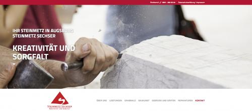 Firmenprofil von: Steinmetz Sechser in Augsburg