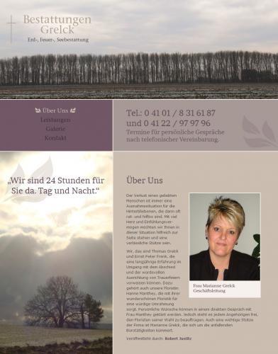 Firmenprofil von: Bestattungen Grelck in Tornesch