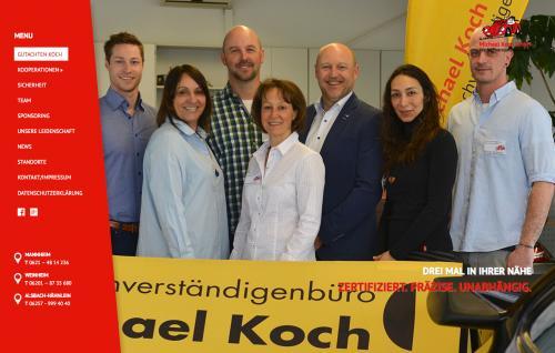 Firmenprofil von: Michael Koch GmbH, Kfz-Sachverständiger in der Region Darmstadt, Bergstraße,  Ried und dem Odenwald