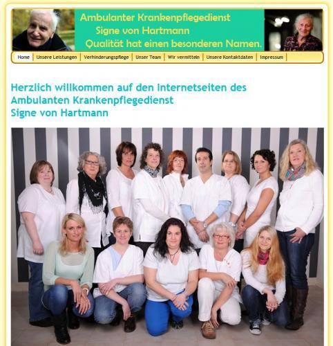 Firmenprofil von: Ambulanter Krankenpflegedienst Signe von Hartmann in Schwelm