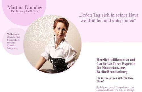Firmenprofil von: Hautschutzengel Martina Domdey Fachberatung für Kosmetik und Haut in Berlin
