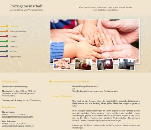 Firmenprofil von: Naturheilpraxis Marion Hartig und Vera Rullmann in Kaarst