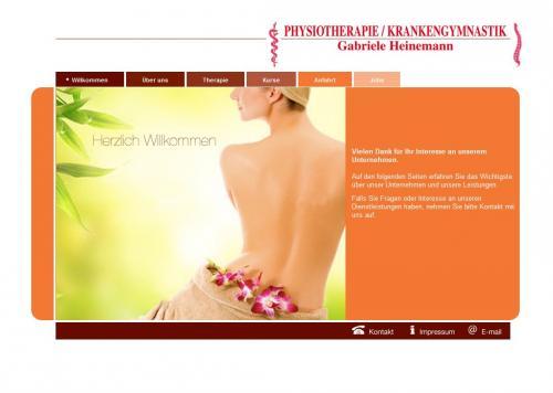 Firmenprofil von: Physiotherapie / Krankengymnastik Gabriele Heinemann in Quickborn