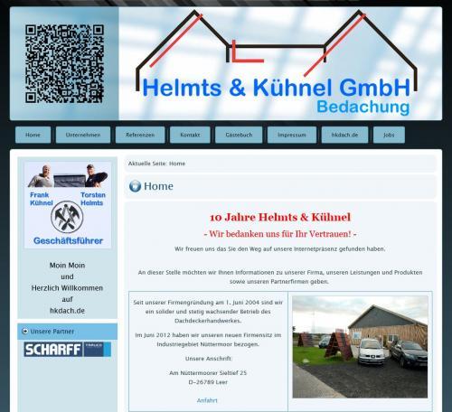 Firmenprofil von: Bedachung Helmts und Kühnel GmbH in Leer