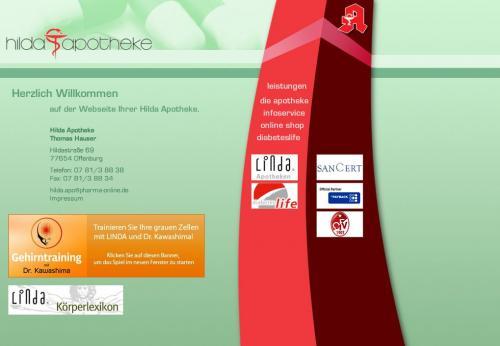 Firmenprofil von: Hilda Apotheke in Offenburg