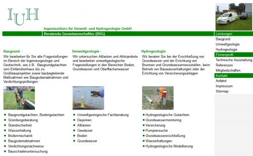 Firmenprofil von: Ingenieurbüro für Umwelt- und Hydrogeologie GmbH in Mansfeld und Halle (Saale)