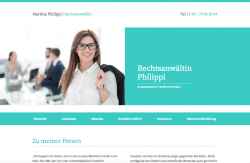 Firmenprofil von: Rechtsanwältin Martina Philippi in Frankfurt am Main