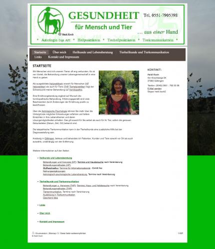Firmenprofil von: Gesundheit für Mensch und Tier in Göttingen
