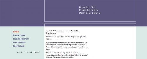 Firmenprofil von: Bewegungstherapie in Hannover-Wettbergen – Praxis für Ergotherapie Daniela Dakic