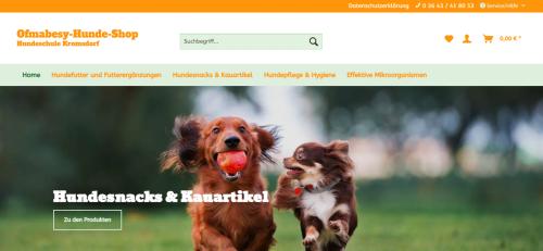 Firmenprofil von: Mehr Vitalität mit der richtigen Nahrungsergänzung: Ofmabesy Hunde Shop