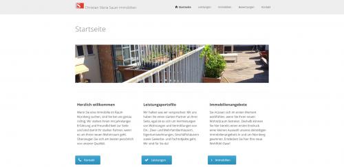 Firmenprofil von: Ihre Immobilienmakler in Nürnberg: Christian Maria Sauer Immobilien GmbH & Co. KG