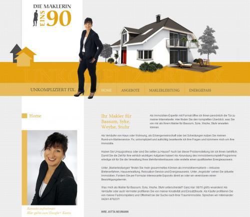 Firmenprofil von: Jutta Neumann Immobilien eK in Bassum-Bramstedt