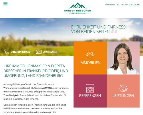 Firmenprofil von: Immobilienmaklerin Doreen Drescher in Frankfurt (Oder)
