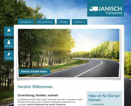 Firmenprofil von: Janisch Transporte in Betzdorf