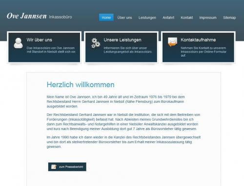 Firmenprofil von: Inkassobüro Ove Jannsen in Niebüll