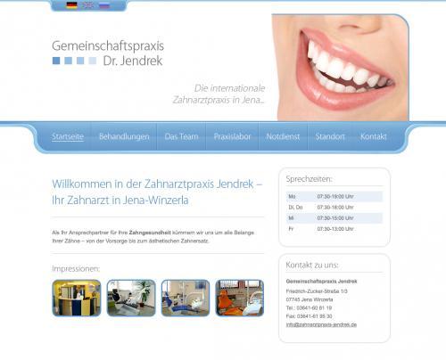 Firmenprofil von: Zahnarztpraxis Jendrek in Jena