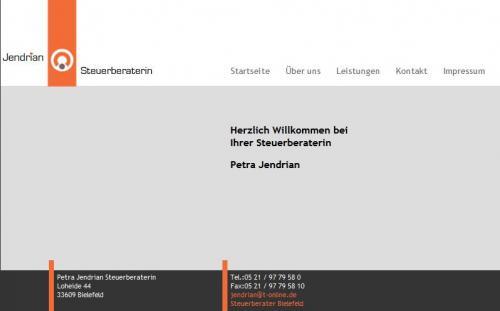 Firmenprofil von: Steuerberater Jendrian in Bielefeld