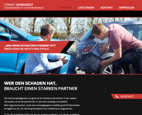 Firmenprofil von: Kfz-Sachverständigenbüro Dipl.-Ing. (FH) Conny Jungholt in Hannover