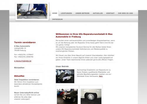 Firmenprofil von: K-Max Automobile in Freiburg