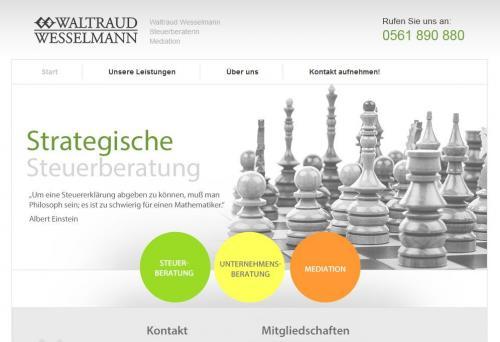 Firmenprofil von: Steuerberaterin Waltraud Wesselmann in Kassel