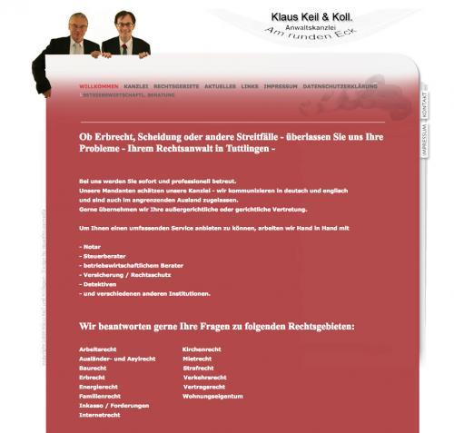 Firmenprofil von: Rechtsbeistand für alle Fälle - Kanzlei Keil & Kollege in Tuttlingen