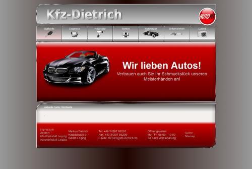Firmenprofil von: Kfz-Dietrich, Kfz-Werkstatt in Leipzig