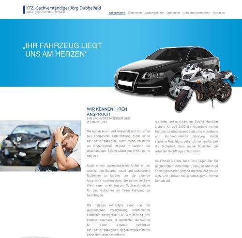 Firmenprofil von: Kfz-Sachverständiger Jörg Dubbelfeld in Köln