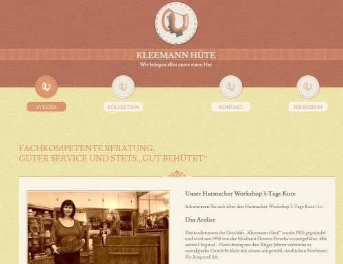 Firmenprofil von: Kleemann Hüte – Hutgeschäft in Berlin