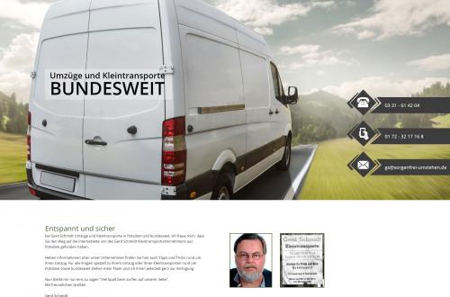 Firmenprofil von: Umzüge und Kleintransporte Schmidt in Potsdam