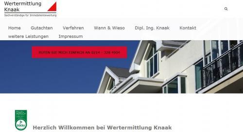 Firmenprofil von: Wertermittlung: Sachverständige und Dipl.-Ing. Architektin Petra Knaak in Leverkusen