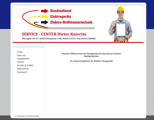 Firmenprofil von: Hausgeräte Kundendienst Knierim in Pirmasens