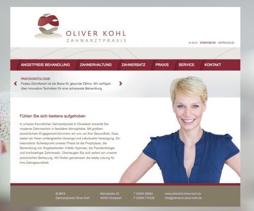 Firmenprofil von: Zahnarztpraxis Oliver Kohl in Dinslaken