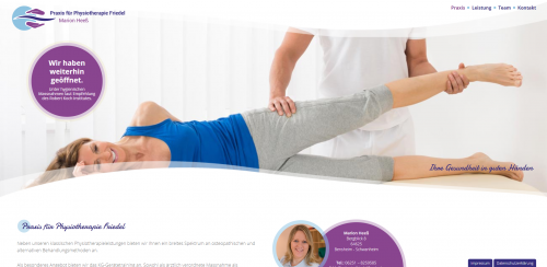 Firmenprofil von: Immer in Bewegung: Physiotherapie Friedel in Bensheim