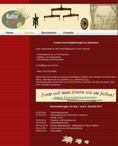 Firmenprofil von: Gaststätte Kulturscheune Othal in Allstedt