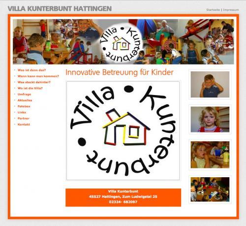 Firmenprofil von: Villa Kunterbunt Kinderbetreuung in Hattingen