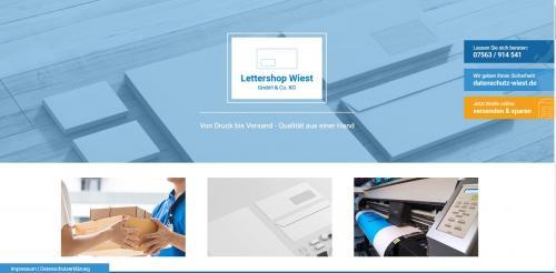 Firmenprofil von: Lettershop Wiest – Ihre Druckservice-Experten