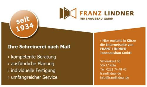 Firmenprofil von: Franz Lindner Innenausbau GmbH in Köln