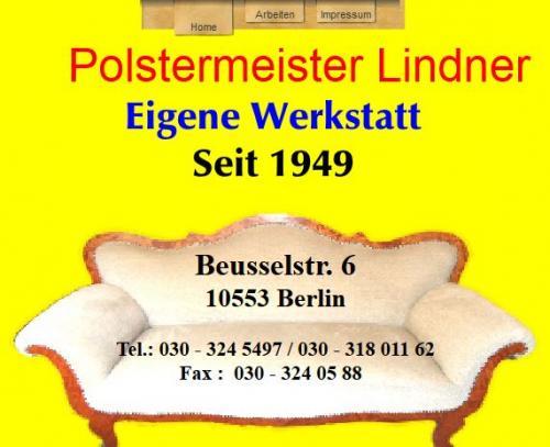 Firmenprofil von: Polstermeister Lindner in Berlin