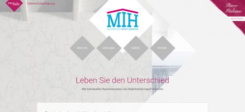 Firmenprofil von: Die helfende Hand beim Tapezieren im Raum Berlin: Malerbetrieb Ingolf Heinecke