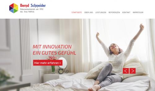 Firmenprofil von: Vielfältige Malerarbeiten in Bonn: Malerbetrieb Bernd Schneider bringt Farbe in Ihr Leben