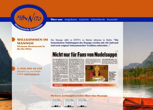 Firmenprofil von: Vietnamesische Spezialitäten Manngo in Berlin
