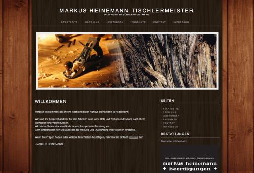 Firmenprofil von: Tischlermeister Markus Heinemann in Hildesheim