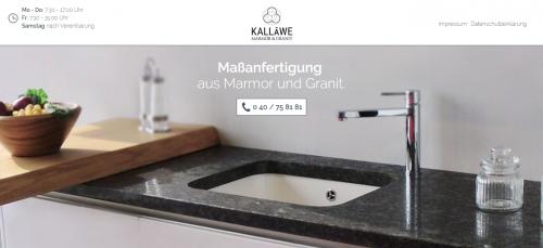Firmenprofil von: Steinarbeiten für jeden Bereich von Steinmetz Kalläwe Marmor & Granit in Hamburg
