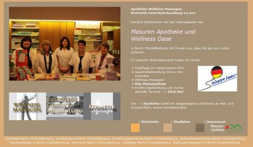 Firmenprofil von: Masuren Apotheke in Berlin-Charlottenburg