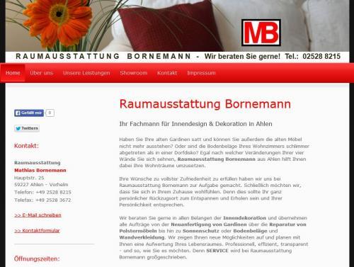 Firmenprofil von: Raumausstattung Bornemann in Ahlen