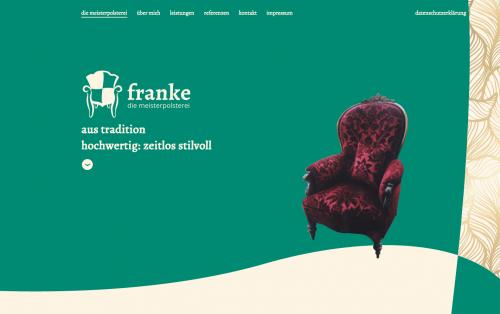 Firmenprofil von: Der Mix aus Antike – Kunst – Moderne und Design - Meisterpolsterei Michael Franke