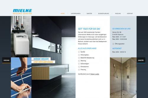 Firmenprofil von: 4D-Badplanung in Bochum: Mielke Heizung-Sanitär